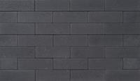 Excluton Klinker Romano 11x33x8 cm Nero