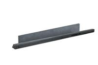 Woodvision Betonrotsmotief eindpaal Gecoat Antraciet 275cm