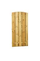 Woodvision Plankendeur grenen Verticaal Recht