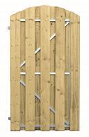 Vuren frame deur 180x100 cm toog verticaal linksdraaiend