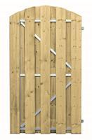 Vuren frame deur 180x100 cm toog verticaal rechtsdraaiend