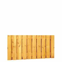Hillhout Grenen plankenscherm 21-planks 180 x 90 cm