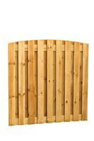 Hillhout Toogplankenscherm Grenen 19-planks Verticaal 180 x 180 cm