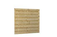 Hillhout Jumboscherm 15-planks 180 x 180 cm