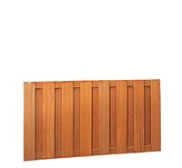 Hillhout Hardhouten plankenscherm 90cm 15-planks