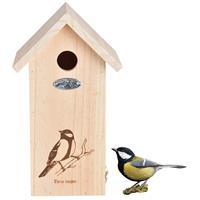 Bestforbirds Nestkast Koolmees Silhouet - Nestkasten - Hout