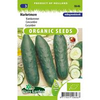 Komkommer zaden Marketmore BIO