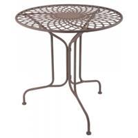 Esschert Design Bistrotafel elegantmetaal70 cm