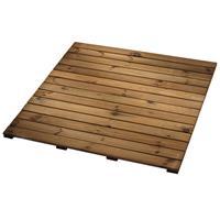 Elephant Terrastegel geïmpregneerd naaldhout grenen bruin 100 x 100 cm (30 mm)