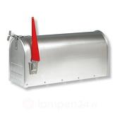Burg Wächter US mailbox massief aluminium 22 x 17 x 48 cm