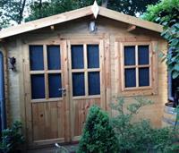 Houten tuinhuis blokhut Suffolk 3x2m