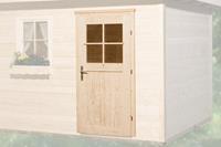 Enkele deur tbv 21 + 28 mm wanddikte