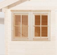 Weka Dubbel raam tbv 45 mm wanden