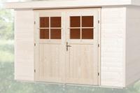 Dubbele deur tbv 21 + 28 mm wanddikte
