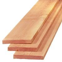 Plank lariks douglas 2,2 x 15,0 cm (4,00 mtr) gezaagd