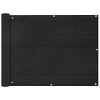 VidaXL Balkonscherm HDPE 90x600 cm antraciet
