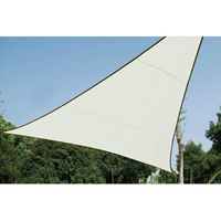VidaXL Driehoekig zonnezeil -
