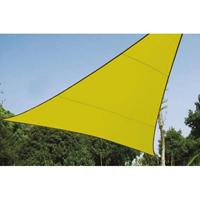 Notspecified ZONNEZEIL - DRIEHOEK 5 x 5 x 5 m, kleur: lichtgroen -