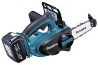 Makita DUC122RTE 18V Li-Ion accu kettingzaag set (2x 5.0Ah accu) in koffer - 115mm