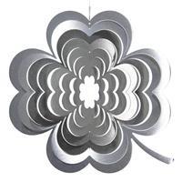 Illumino Wind spinner Klavertje Vier rvs