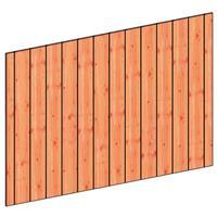 TrendHout Wandmodule K sponningplank verticaal 223 x 156 cm onbehandeld