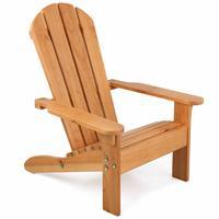KidKraft Adirondackstoel voor kinderen bruin hout 00083