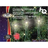 Kerstverlichting voor in de boom 100 LED warm wit 2.1W