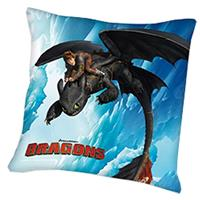 Overigemerken Sierkussen How to Train Your Dragon Blue