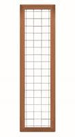 CarpGarant 2043 Draadscherm in kader hardhout 180 x 45 cm