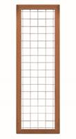 CarpGarant 2042 Draadscherm in kader hardhout 180 x 60 cm
