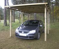 Gardenas Carport Budget 300x500 cm