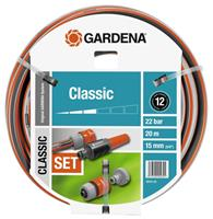 Gardena Tuinslang Classic Set Ø 15 mm 20 Meter
