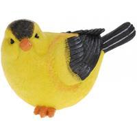 Decoratie vogeltje Wielewaal 17 cm Multi