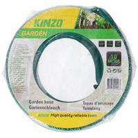 Kinzo tuinslang groen/zwart 10 meter
