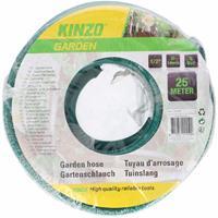 Kinzo tuinslang groen/zwart 25 meter