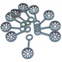 Nature Ring voor het samenvoegen van 3 plantenstokken - 8 mm