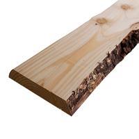 HomingXL Boomschors plank lariks douglas 3,0 x 20,0/30,0 cm (2,50 mtr) bezaagd