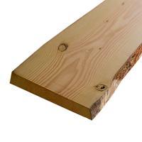 HomingXL Boomschors plank lariks douglas 3,0 x 35,0/45,0 cm (2,50 mtr) bezaagd