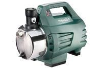 metabo HWA3500 Inox Huiswaterpomp 1100 Watt 3500 L/h