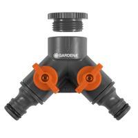 GARDENA 2-weg-waterverdeler 26,5mm (G 3/4) (938-20)