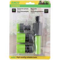 Kinzo tuinslang sproeikop verbindingsstuk set