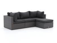 Forza Furniture Forza Barolo chaise longue loungeset 4-delig