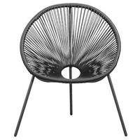 Leen Bakker Loungestoel Formentera - antraciet