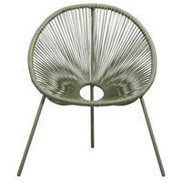 Leen Bakker Loungestoel Formentera - olijfgroen