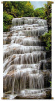 Pb-collection Banner Waterval l170b85cm