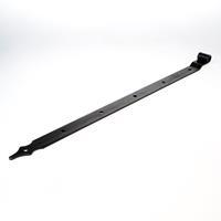 Gb Heng Rustica vlakwerk voor pen diameter 16mm 80 x 5cm zwart