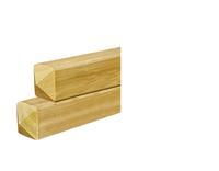 Woodvision Tuinhout paal ME Vuren 87 x 87 mm Sc. 300 cm