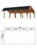 Trendhout Kapschuur De Heerd 9.8m Combinatie 1