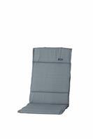 madison Textileenkussen hoge rug Basic Grey