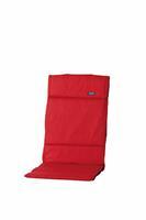 madison Textileenkussen hoge rug Basic red